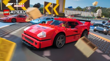 Forza Horizon 4 LEGO Speed Champions Ferrari Race Screenshot