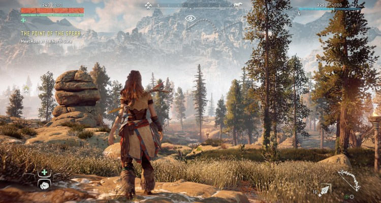 Horizon: Zero Dawn la primera gran exclusiva de PlayStation en llegar a pc