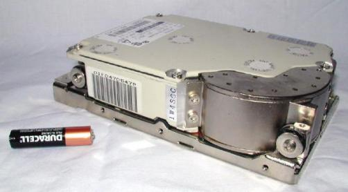 """The Tank"" - a monster 1 Gig SCSI drive"