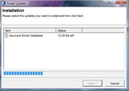 Spyware Doctor Update