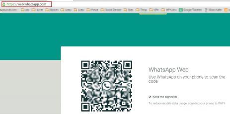 WhatsApp scannen
