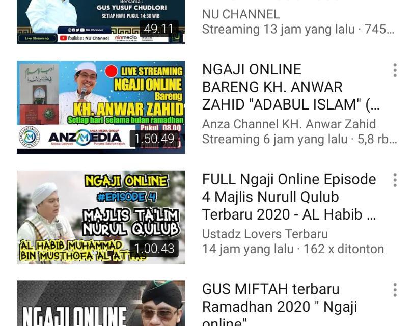 Trend Ngaji Online dan Ambyarnya Kharisma Kiai NU, Sudah Saatnya Move On!
