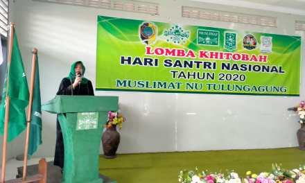 Peringati Hari Santri Nasional 2020 Muslimat NU Gelar Lomba Khitobah