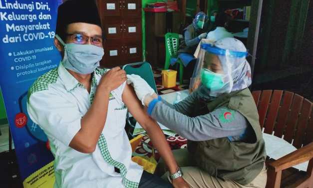 LKNU Tulungagung Laksanakan Vaksinasi Covid-19 ke Sejumlah Pengurus Lembaga dan Banom