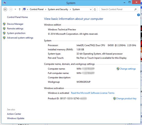 system windows10