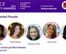 Raisa, Pevita Pearce, dan Melody JKT48 Jadi Nomine di Yahoo! Celebrity Awards 2014