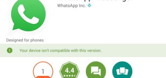 Pasang WhatsApp di Tablet Android