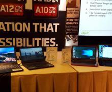Acer Aspire E5-553G, Notebook AMD APU Mobile Generasi Ke-7 Pertama di Indonesia
