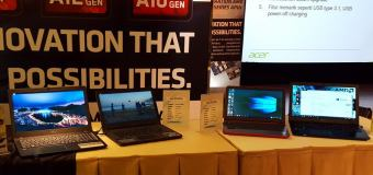 Acer Aspire E5-553G, Notebook AMD APU Mobile Generasi Ke-7 Pertama di Indonesia