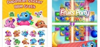 Rilis Fruits Mania, BBM Bagi-bagi Stiker Gratis