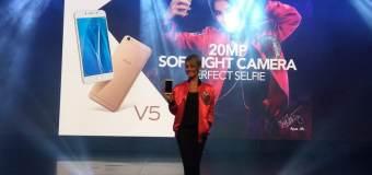 Vivo V5, Smartphone dengan Resolusi Kamera Depan 20 MP Hadir di Indonesia