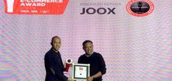 JOOX Raih Platinum Award di Indonesia E Commerce Award 2016