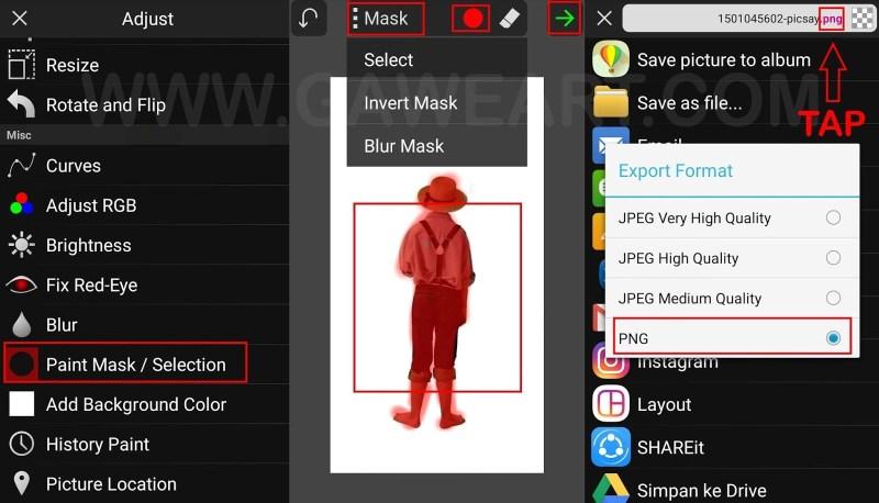 Keunggulan Dari Aplikasi PicSay Pro