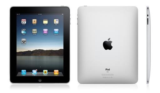 U centru tablet scene: Apple iPad