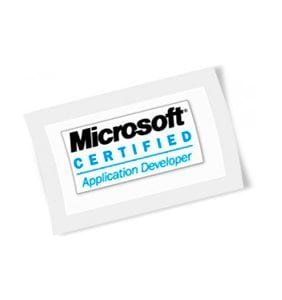 Microsoft Certified Application Developer Logo