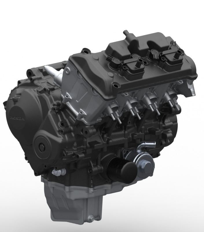 Bolton WorksSolid Works Assembly 2009 Honda CBR600RR Engine (11)