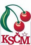 Logo du Parti communiste en République tchèque ...