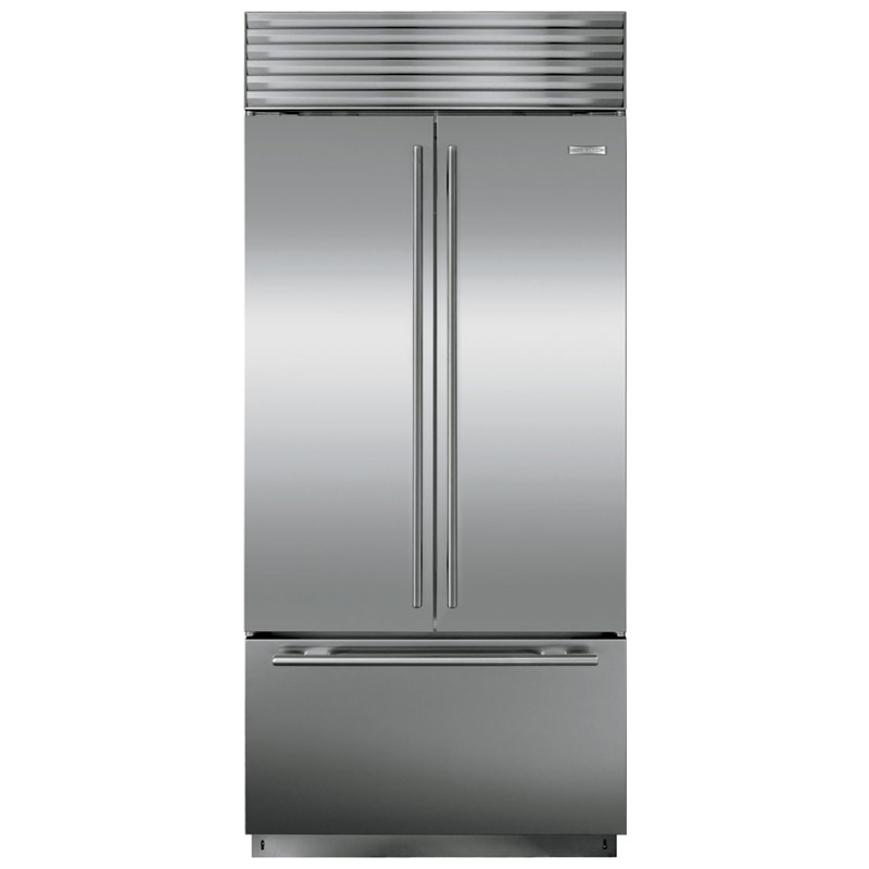 Sub Zero 36 21 7 Cu Ft French Door Refrigerator Stainless Steel Pcrichard Com Bi36ufdidsth