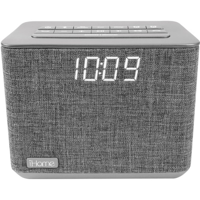 Ihome Ibt232 Bluetooth Dual Alarm Fm