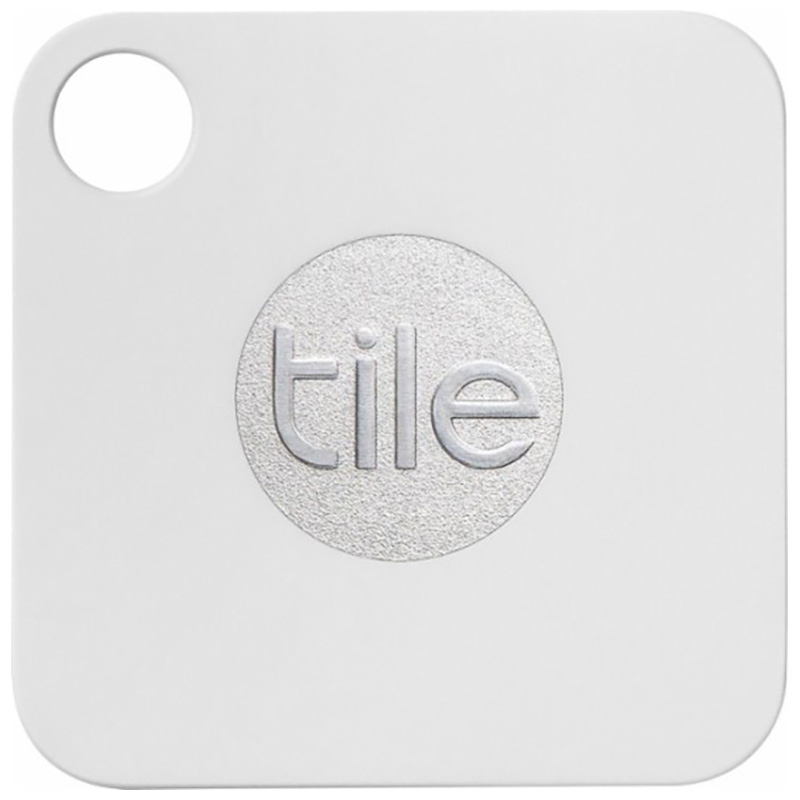 tile mate smart tag 4 pack phone key item trackers white