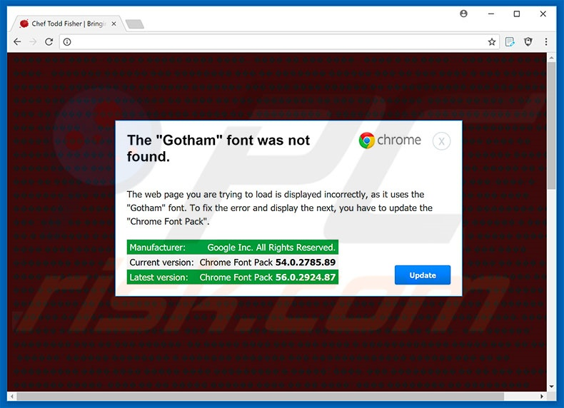 Download Cómo eliminar Estafa The Gotham Font Was Not Found POP-UP ...