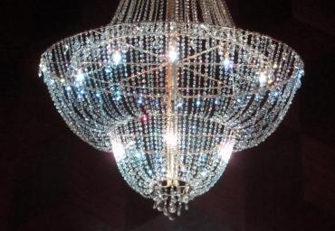 Pcs Props Wizardy A Custom Built Crystal Chandelier