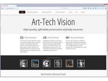 Art-Tech Vision HTML5 Site