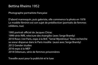00 - Bettina Rheims