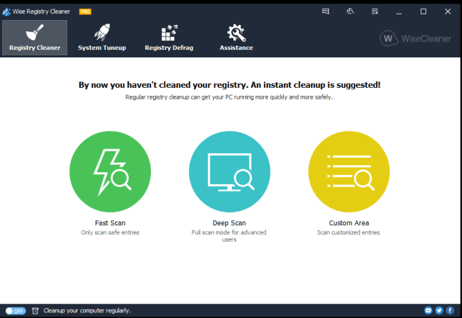 Wise Registry Cleaner Pro latest version