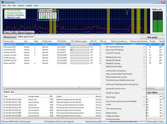Process Lasso Pro latest version