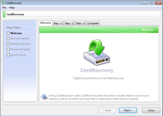 CardRecovery windows