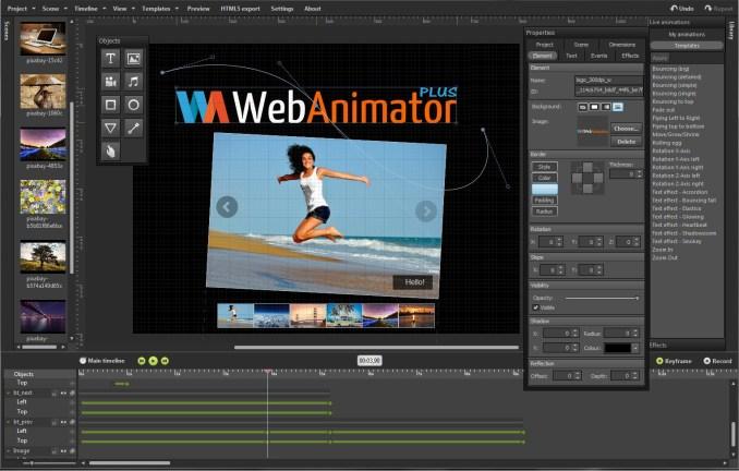 WebAnimator Plus windows