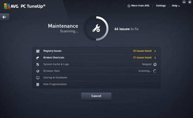 AVG PC TuneUp latest version