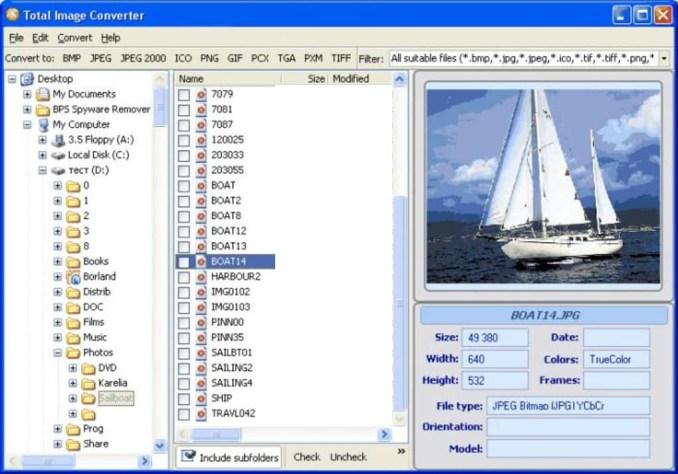 Total Image Converter windows