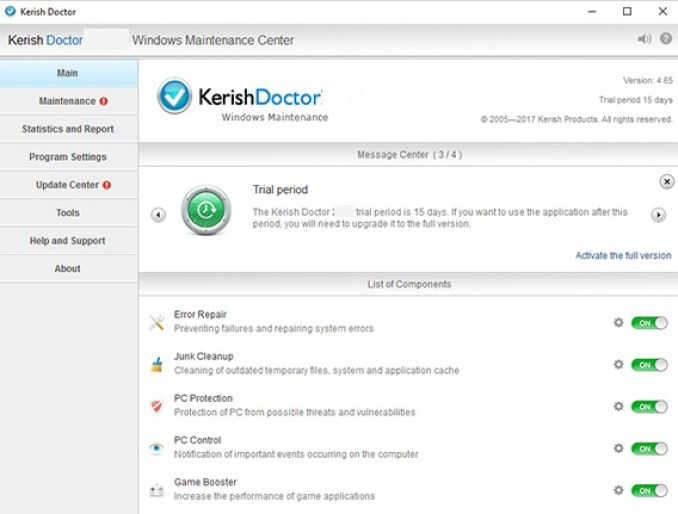 Kerish Doctor latest version