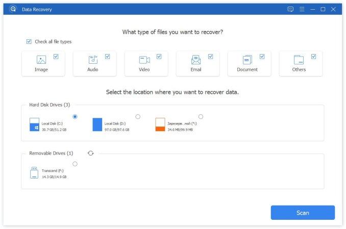 Apeaksoft Data Recovery latest version