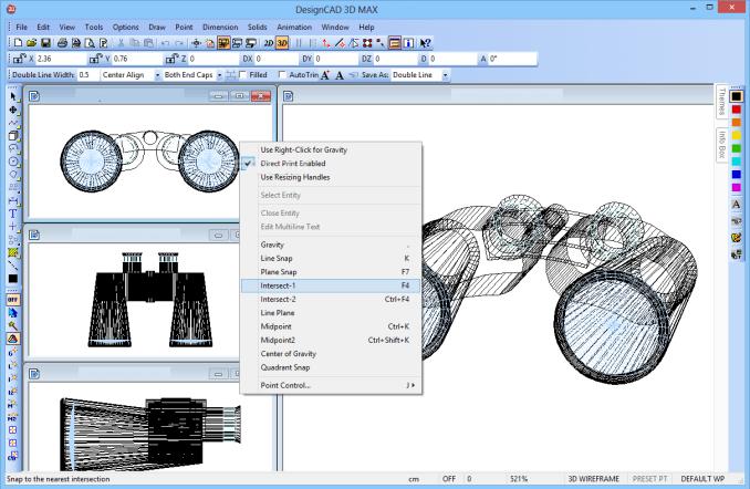 DesignCAD 3D Max windows