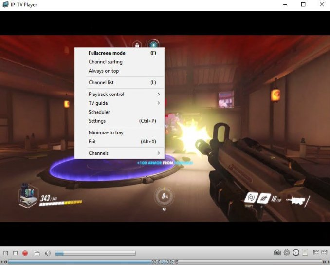 IP-TV Player windows