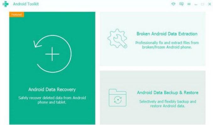 Apeaksoft Android Toolkit windows