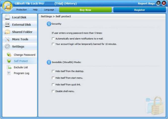 GiliSoft File Lock Pro latest version