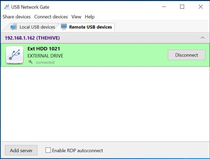 USB Network Gate windows