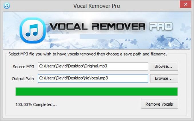Vocal Remover Pro windows