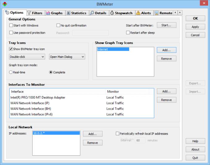 BWMeter windows
