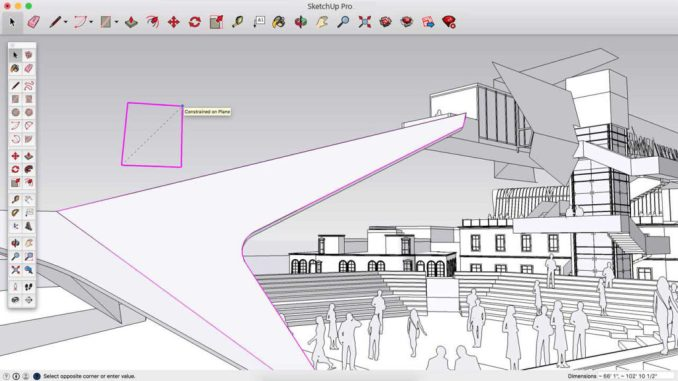 SketchUp Pro windows