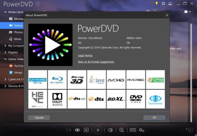 CyberLink PowerDVD Ultra latest version