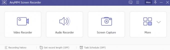 AnyMP4 Screen Recorder windows
