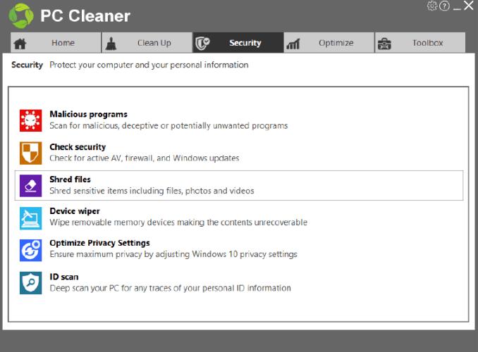 PC Cleaner Platinum latest version