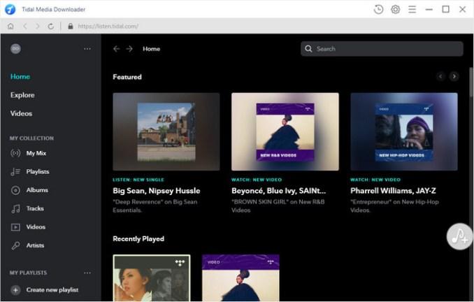TunePat Tidal Media Downloader windows