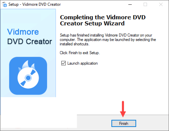 Vidmore DVD Creator windows