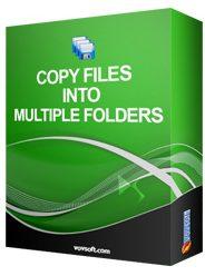 VovSoft Copy Files Into Multiple Folders